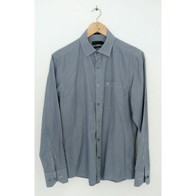 Camisa Masculina Vr Slim Fit Tam.2 Listras 100%algodão Extra