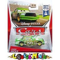 Disney Cars Chick Hicks Lacrado Orig.l Mattel Pronta Entrega