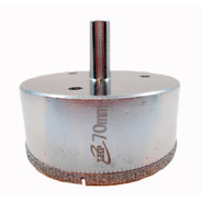 Mecha Diamantada 70mm Vidrio Cerámica Mármol Porcelanato