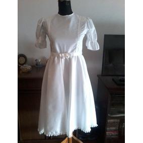 Vestido Comunión/fiesta 10, 12 Años, Modista Alta Costura