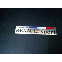 Emblema Renault Sport Clio Sandero Megane Fluence, Simbol!!
