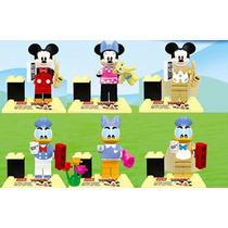 Set Raton Miguelito Daisy Donald Mimi Compatible Con Lego