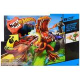Pista Hot Wheels Ataque Duelo De T Rex Dinosaurio Bunny Toys