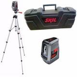 Nivel Laser 3 Lineas Auto-nivelante Tripode Malet Skil 0516