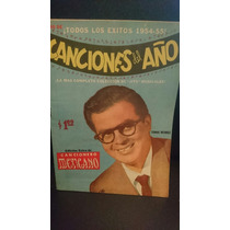 Cancionero Mexicano Edición Extra Éxitos 1954-55 Tomas Ménde