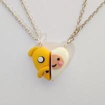 Collares Hora De Aventura Adventure Time Pareja Amor Amistad