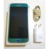 Original Samsung S6 Turquesa Azul 32gb Libre Android