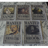 One Piece Wanted - Set 10 Posters A4 - Ronin Store - Rosario