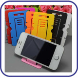 2 X 1 Soporte Plegable Celular Iphone Samsung Htc