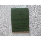 2931- Libreta Sanitaria Usada. Avellaneda 1969