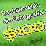 Restauración Fotográfica, Recupera Tus Fotos Dañadas