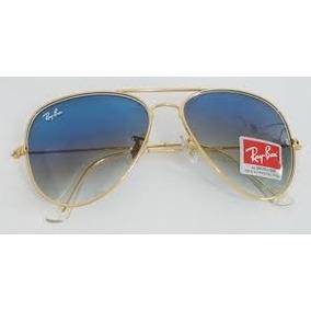 Óculos Aviador Mont Blanc Armação Azul Lente Degradê - Óculos no ... 972fcf8f3f