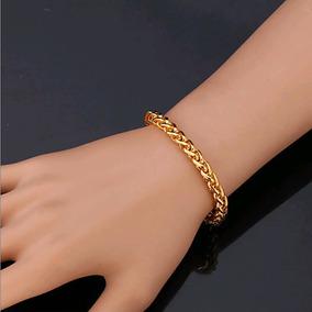 Pulseira 9k Ouro Rose Filled Gold (ouro Laminado) - Joias e Relógios ... 3a715099fa