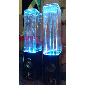 Speakers Cornetas Pc Telefono 3.5mm Fuente Led Ritmo Musica