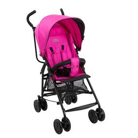 Carrinho De Bebê Cosy Pink Reclinável - Burigotto