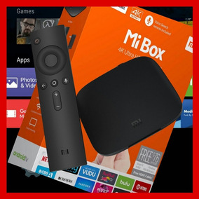 Mibox Xiaomi Tv 4k Com Controle Versão Global Em Português