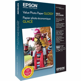 Papel Epson Brilhante Original Com 200 Folhas 10x15 - Pm525