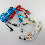 Cable Datos Micro Usb 90° Grados 90cm Reforzado Microcentro