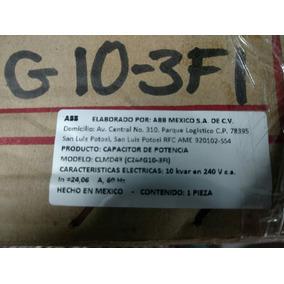 Capacitor Abb, 10kvar, 240v, 24amps, Poliequipos