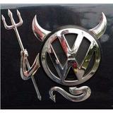 Sticker 3d Devil Mazda, Volkswagen, Bmw, Toyota, Hyundai