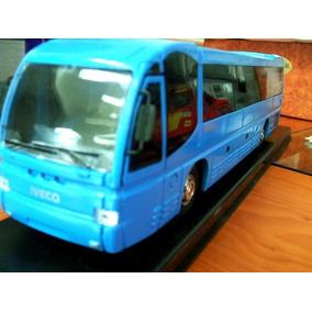 Autobus Omnibus Reisebus Coach De Metal Escala 1:43 Iveco