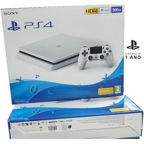 Console Ps4 Slim 500gb Branco Sony + Garantia- Anatel + Nf