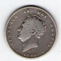 Barese2013 Moneda De Inglaterra 1 Shilling 1826