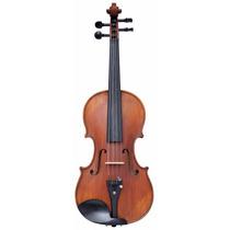 Violino 4/4 Zion By Plander Modelo Strad Antique Estojo Luxo