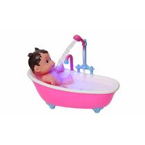 Boneca Baby Shower C/ Duchinha Luz E Som Pica Pau
