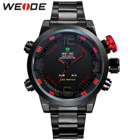 Increíble Reloj Lcd Weide Wh2309 Con Estuche.