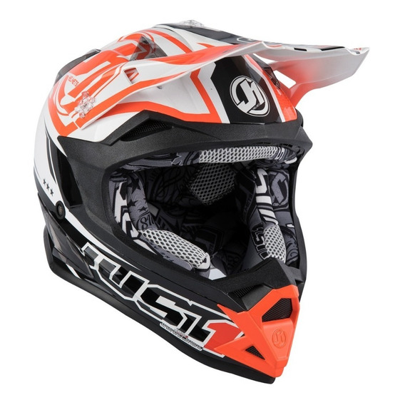Casco Cross Atv Enduro Just1 J32 Pro Rave Series 2020