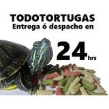 Pellet Mixto Alimento Comida Tortuga Agua Todotortugas 1kilo