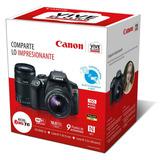 Cámara Reflex Canon Eos Rebel T6 2 Lentes 18-55 Y 55-250
