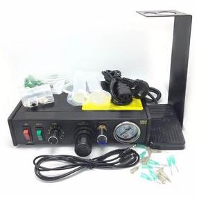 Maquina Semiautomática,dispensa Pegamento De Inyección