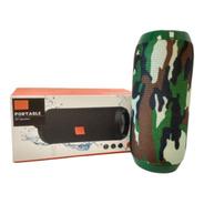 Parlante Bluetooth Portatil Usb Inalambrico Camuflado