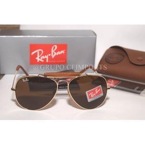 Oculos Rayban Aviador Cacador - Óculos no Mercado Livre Brasil 223a672a15