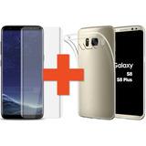 Protector Tpu + Vidrio Templado Samsung S8 Y S8 Plus ®