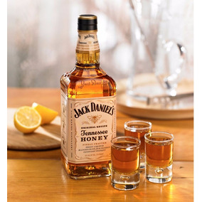 Jack Daniels 1l-whisky Importado Tennessee Honey-3 Unidades