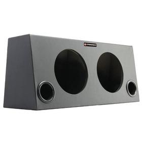 Caixa Dutada Para 2 Alto-falantes De 10 Premier Audio
