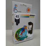 Cartucho Max Color 51645ge 45 Hp X10 Unid 710 815 930 Gk60