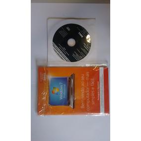 Windows 7 Dell Proficional 64bit Dvd Novo Laclado!