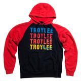 Blusa De Moletom Troy Lee Wave Fleece Vermelha