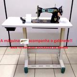 Reta Semi Industrial Com Mesa+motor+brinde