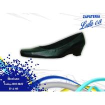 Zapatos De Cuero Para Dama Marca Botiano Bo12607