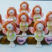 Souvenirs Angeles Comunion Bautismo (10 Unidades)