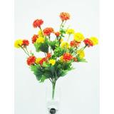 32 Buquês Crisantemos Amarelos - Flores Artificiais Arranjos