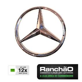 Emblema Estrela Caminhão Mb 1113 608 2013 708 1313 C/25,5cm