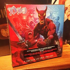 Dio A Decade Of Dio 1983 1993 Box Set Cds