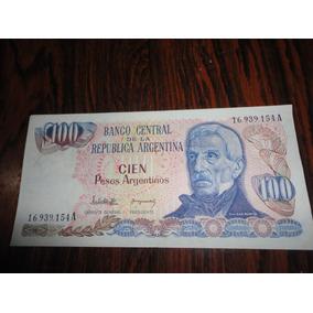 Billete De Cien Pesos Argentinos Cd 226
