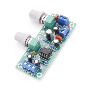 Placa Pré Amplificador Para Subwoofer 22-300hz 12 A 24 Volt